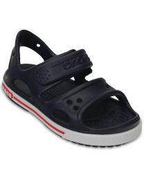Kid's Crocband II Sandal Navy/White
