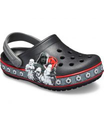 Kid's Crocband  Fun Lab Empire Band Clog K Black