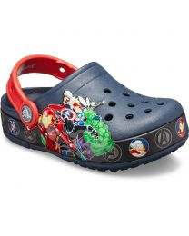 Kid's Crocs Fun Lab Marvel Band Light Clog K Navy
