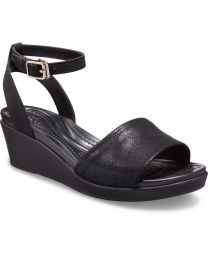 LeighAnn Shimmer Ankle Wedge