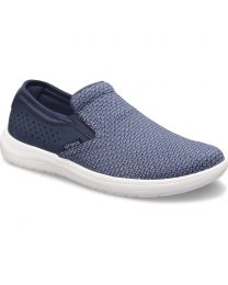 Men's Crocs Reviva Slip On Navy/Whi